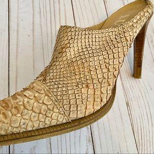 Luzzi Shoes - Luzzi Pointed Toe Mules - Size 40